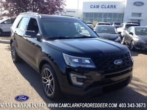 2016 Ford Explorer Sport  Moonroof Navigation Adaptive Cruise