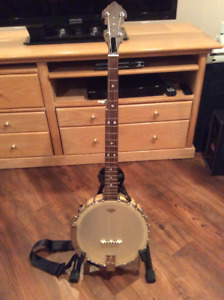 OB Custom 5 String Banjo