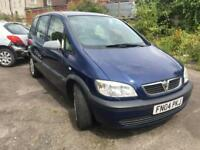 Vauxhall Zafira 1.6 2004 + SPARES AND REPAIRS