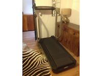Weslo space saving treadmill fitness training!