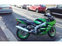 Kawasaki ninja zx6r for sale or swap