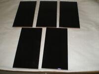 43 Black wall tiles