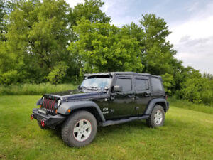 Jeep Wrangler Unlimited JK-Tons of Extra's