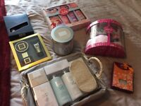 Selection of unwanted beauty products