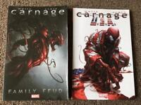 Carnage Family Feud and Carnage USA Graphic Novels