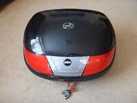 Motor cycle top box