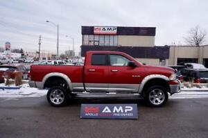 2010 Dodge Ram 1500 Laramie LIFTED XTRA CLEAN CHROME SCREEN.