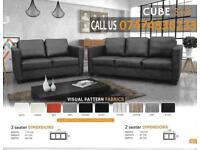 Cube sofa 3+2 brand new bY