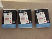 brand new HP office paper