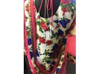 Floral Punjabi suit