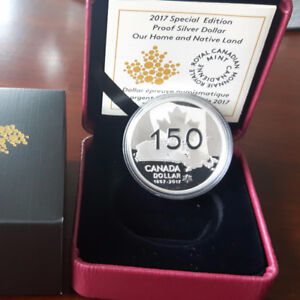 Special Edition Proof Silver Dollar – Our Home and Native Land (