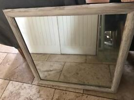 Shabby chic mirror!!