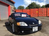 Low mileage 2003 Hyundai Tuscany Coupe 2.7 V6 Supercharged mot until March