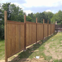 looking to get that fence or deck built?