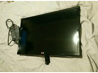 LG Smart TV 22 inches wide WIFI Lg 24mt35s