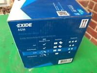 Motorcycle battery brand new