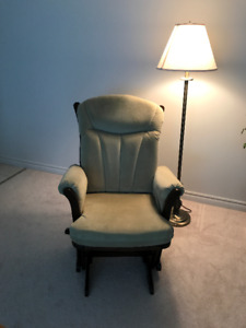 """""""DUTAILER""""  WOOD ROCKING & RECLINER CHAIR (State Sale)"""