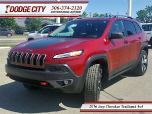 2016 Jeep Cherokee Trailhawk 4x4