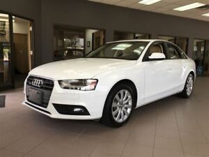 2013 Audi A4 LEATHER/BLUETOOTH/HEATED SEATS/SUNROOF