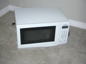 Panasonic Microwve Oven - .8 cu ft. - White - $35