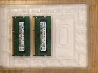 2x 2GB Memory module Macbook Pro Late 2011