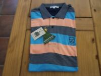 "TOM MORRIS ""ST ANDREWS"" old course POLO TOP. XXL. NEW WITH TAGS"