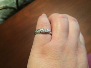 Incredible 5 Stone Diamond Ring White Gold 1.3TCW-Bought Locally