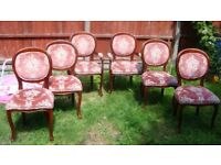 CHairs upholstered chairs