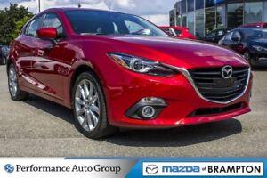 2016 Mazda MAZDA3 SPORT GT|LEATHER|HTD SEATS|ROOF|CAM|NAVI