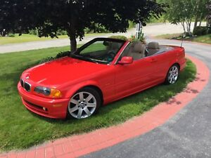 """NICE"" 2001 BMW 325 CI Red Convertible"