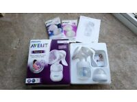 Philips AVENT Manual Comfort Breast Pump with Bottle