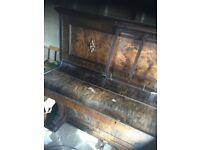 Upright piano. Beautiful piano but needs some tlc. Must Collect