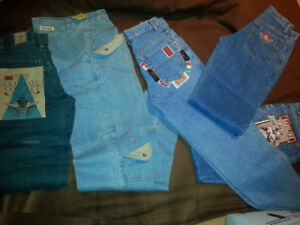 BACK TO SCHOOL SPECIAL KIDS JEANS 2 PAIRS FOR $20.00