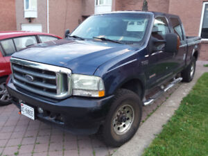 2003 Ford F-250 6.0L Turbo Diesel Crew Cab