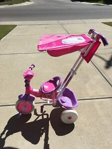 Disney Princess Girls' Lights and Sounds Canopy Tricycle