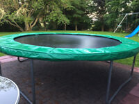 Large round TP 12foot trampoline