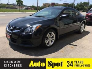 2010 Nissan Altima 2.5 SL/RED ON BLACK LEATHER/LOW,LOW KMS!