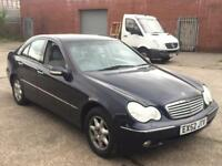 Mercedes-Benz C180 2.0 AUTOMATIC PTRL,FULL MERCEDES SERVICE HISTORY,2 OWNER,2KEY