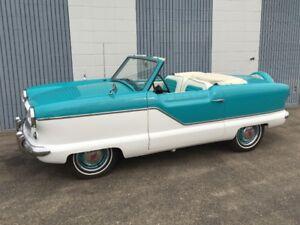 1958 Nash Metropolitan.  Auction Sale Aug. 26th
