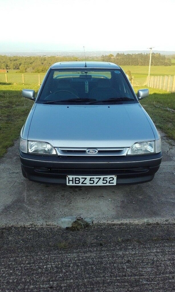 1992 Ford Orion 1.6 LX good £1,400 good classic for showing