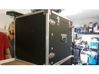 Amp rack flight case