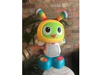 Fisher Price BRIGHT BEATS Robot Dog SINGING Dancing MUSICAL Toy Sensory