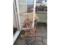 3 sets of Xmas lights and standing santa for £10. Not used anymore, collection only BS13 area
