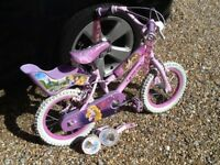 "Girls 14"" Disney Princess Bike"