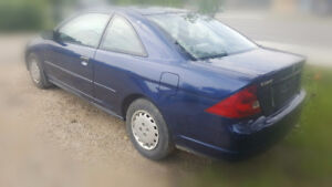 2001 Honda Civic LX Coupe 5-Speed NEW SAFETY