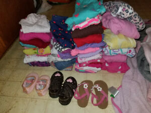 Big bag of baby girl clothes 0-3 and 3-6 months