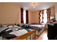 TRIPLE and DOUBLE rooms available in 3/4 bedroom flat share - E9 5PJ