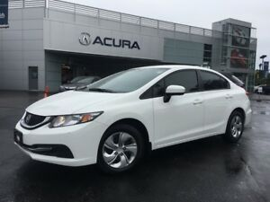 2015 Honda Civic LX | 5SPEED | HTDSEATS | BACKUPCAM | OFFLEASE
