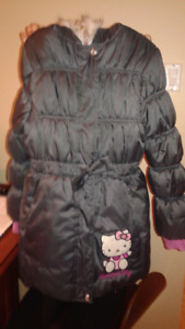 manteau fille hello kitty grandeur 8 ans