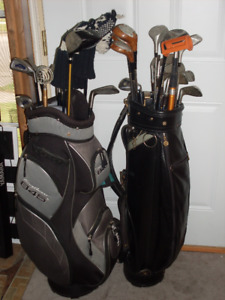 Two Golf Clubs Sets